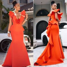 Cute Thanksgiving dresses you can actually eat in African Print Fashion, African Fashion Dresses, African Attire, African Wear, African Women, African Dress, Dinner Gowns, Glam Dresses, Traditional Dresses
