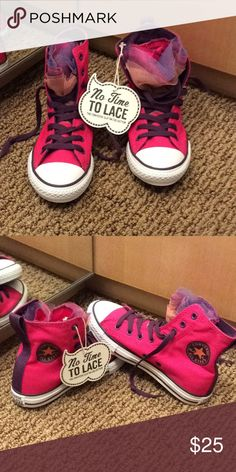 a27dbd077c62 NWT Pink Converse Chuck Taylor All Star High Tops