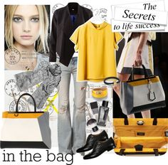 """in the bag"" by ana2cats on Polyvore"