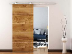 Find the largest offer in Contemporary Barn-Door Type, Sliding Door Hardware like Studio Sliding Door Set For Suspended Wooden Door With Visible Stainless Steel Hardware (Soft Close Included) at Richelieu.com, the one stop shop for woodworking industry.