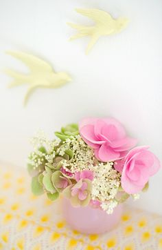 Pink Love, Pink Yellow, Pink And Green, Yellow Cottage, Elderflower, Pink Summer, Pink Lemonade, Pretty Pastel, Soft Colors