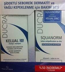 Ducray Kelual DS Şampuan & Squanorm Losyon