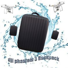 51.57$  Watch here - http://alindx.worldwells.pw/go.php?t=32340281663 - 2016 New Fashion DJI Phantom Bag Backpack Waterproof for Phantom 3 FPV Drone Backpack Quadcopter Helicopter Part Fast Shipping