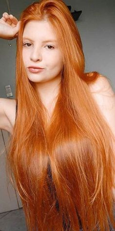 IDK them but I had to pin this hair! Beautiful & # # this # Dyed Hairstyles Beautiful Haare Hair IDK PIN Long Red Hair, Girls With Red Hair, Super Long Hair, Beautiful Red Hair, Gorgeous Gorgeous, Beautiful Redhead, Gold Hair Colors, Red Hair Woman, Rapunzel Hair