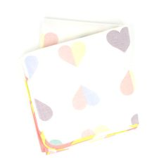 The Knew New // Hearts Baby Blanket $42