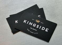 Kingside restaurant branding