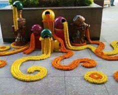 Decor Desi Wedding Decor, Wedding Hall Decorations, Diy Diwali Decorations, Marriage Decoration, Backdrop Decorations, Festival Decorations, Flower Decorations, Mehndi Decor, Mehendi