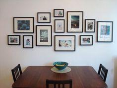 nice photo wall