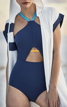 For beach loving designers Megan Balch and Jaime Barker, starting their own swimwear line came with the mission of providing chic, tailored suits that could withstand the surf. Using the highest Italian fabrics, the New York based duo works with artisan tailors to create unique silhouettes with
