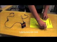 Mitkä esineet johtavat sähköä? - YouTube Science, Youtube, Eten, Flag, Science Comics