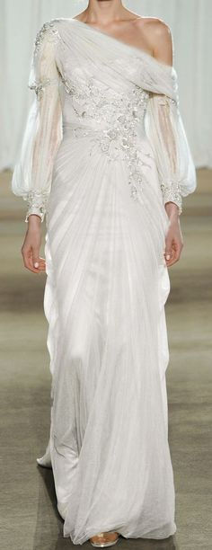 Goddess gown...Marchesa