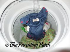 All new cloth diapers require at least one initial washing prior to first use. Whenever I buy a new diaper, I toss my purchase in with my next load of diap
