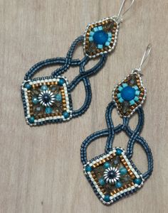 Women's Earring Ladies Gemstone Beads Jewelry by OhlalaJewelry, $99.00