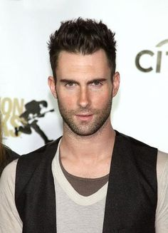 Adam Levine - The more I'm listening to Marron 5, the more he is making rapid progress to the laminated list.