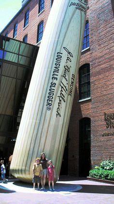 Louisville Slugger Museum and Factory, Louisville, Kentucky