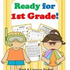 Get your graduating kindergartners ready for 1st grade with this 42-page summer math and literacy packet!  Packed with engaging activities to help ...