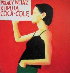 Wilhelm Sasnal,  Polacy wciąż kupują Coca-Colę, 1999