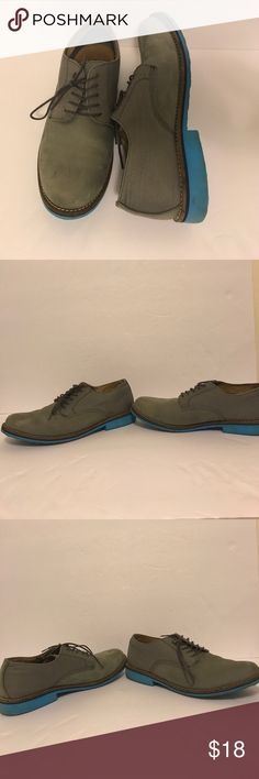 AWESOME SHOES Aldo casual shoes!Cool color wave These shoes are just sweet! I love the blue and grey color wave  there is a small dark spot on the left shoe that it's that noticeable (last picture) Aldo Shoes Oxfords & Derbys
