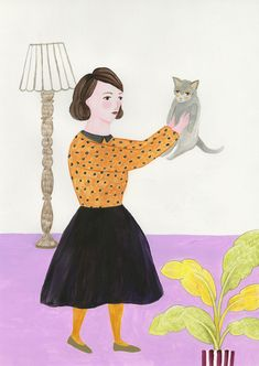 Soft colors and pretty details in Yuko Rai's delightful illustrations. More posted on the blog! http://www.artisticmoods.com/yuko-rai/