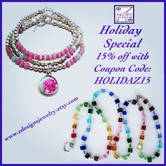 Announcing my holiday sale, just in time for Cyber Monday! Free Shipping in the US!