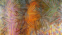 Jasper Johns, Between the clock and the Bed