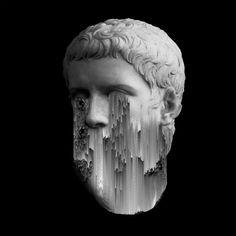 Giacomo Carmagnola, Caligula. 100x100cm