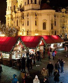 Christmas markets in Prague!