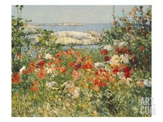 Ocean View, by Childe Hassam