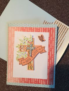 Hold Onto Hope with Tutti Fruitti Saleabration Note Cards and Daisy Delight DSP