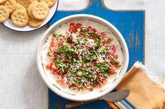 PHILLY Tomato-Basil Dip recipe
