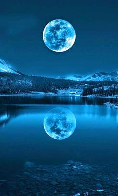 Across The Universe: SILVERY MOON