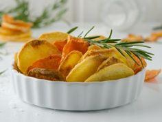 Erdäpfel-+und+Gemüsechips+aus+der+Heißluftfritteuse