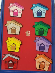 Little Mouse is in the market for a new house. I recently remade my Little Mouse set and I'm super happy with the little houses! Sequencing Activities, Preschool Math, Fun Activities, Pete The Cats, Transportation Theme, Flannel Boards, Wheels On The Bus, Author Studies, Art Lessons Elementary