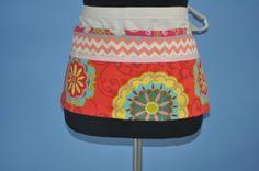 Utility apron for women Gardening Apron Women's by CraftyMom75, $20.50