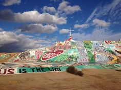 Salvation Mountain - I really must go here.
