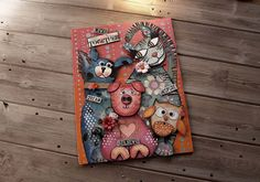 Created with NEW Die'sire #MixedMedia dies from #crafterscompanion - see them on HSN January 10, 2017!