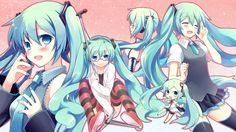 hatsune miku 2048x1152 - Szukaj w Google
