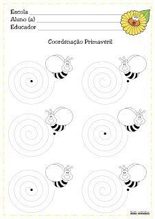 Bee Activities, Writing Activities, Printable Preschool Worksheets, Kids Line, Finger Plays, Pre Writing, Bee Theme, Bee Happy, Book Themes