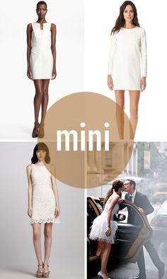 Mini wedding dresses