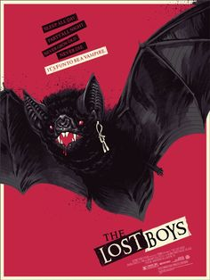 Awesome Lost Boys poster by Phantom City Creative