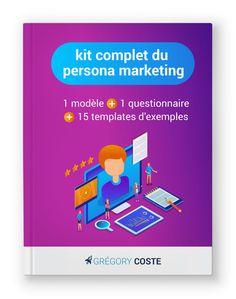 kit complet du #persona marketing #SaaS : 1 modèle, 1 questionnaire et 15 templates d'exemples Inbound Marketing, Persona Marketing, Buyer Persona, Questionnaire, Community Manager, Kit, Management, Templates, Amazing