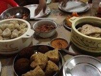 Le e Lu on the eat: - momos, samosa salad and more