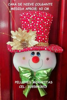 Navidad Diy, Christmas Crafts, Christmas Ornaments, Christmas Stockings, Snowman, Holiday Decor, Nova, Mary, Home Decor