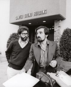 midmarauder:  George Lucas and Martin Scorsese, 1977Photo byJulian Wasser