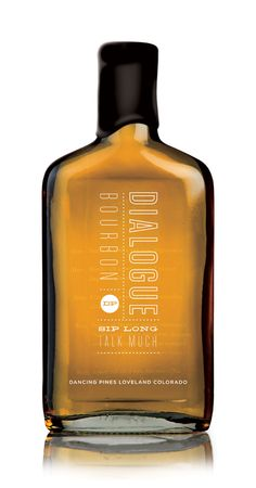 #packaging #beverage #typography