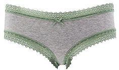 Lace-Trim Cheeky Panties $2.27