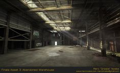 ArtStation - Finals Asset 3: Abandoned Warehouse, Marc Noske