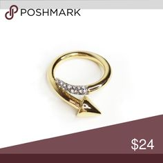New Banana Republic Sparkle Nail Ring- Size 7 New Banana Republic Sparkle Nail Ring- Size 7 Banana Republic Jewelry Rings