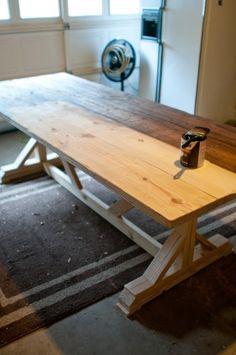Farmhouse X Table Plans (for Papa To Make)