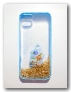 iPhone 5/5s case Resin with Real Sand shell . by Annysworkshop, $19.00